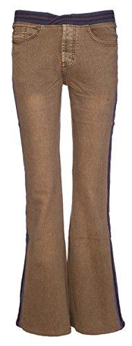 Navy Vaqueros Boot Shop Mujer Para Pantalones Waistband Cut Lets 6vqxHww
