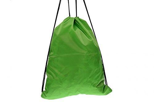 BOY LONDON mochila bolsa unisex con BLA-06 impresión de color verde Verde