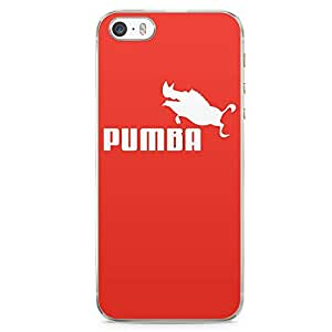 Loud Universe Pumba iphone 5 / 5s Case The Lion King iphone 5 / 5s Cover with Transparent Edges