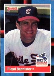 Amazoncom 1988 Donruss Baseball Card 383 Floyd Bannister