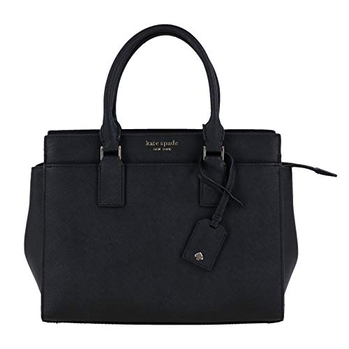 (Kate Spade New York Cameron Medium Satchel Purse (Black))