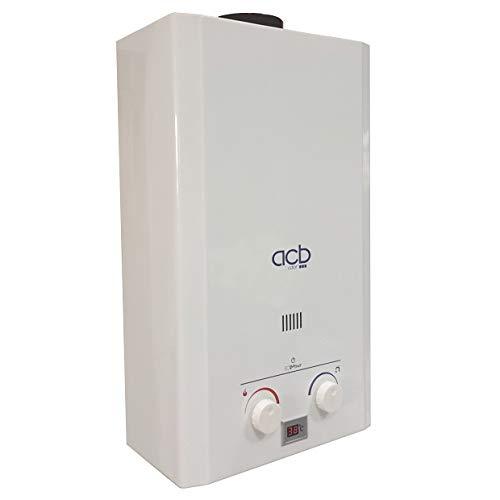 Calentador a Gas GLP (Butano/propano) ACB 10 Litros: 127.05: Amazon.es: Bricolaje y herramientas