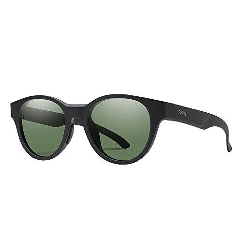 Smith Snare Carbonic Polarized Sunglasses, Matte Black