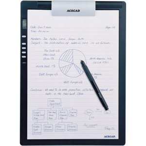 Solidtek Acecad DigiMemo DM-L2 Digital Notepad. ACECAD DIGIMEMO L2 LETTERSIZE DIGITAL NOTEPAD 32MB MEM TABLET. Electromagnetic Pen - PC by Acecad