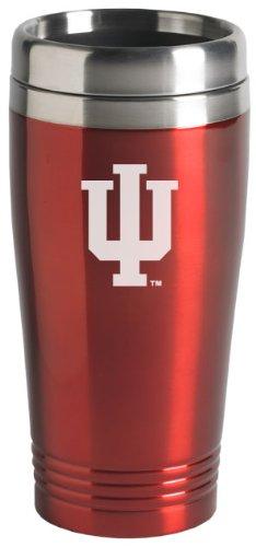 Indiana University - 16-ounce Travel Mug Tumbler - Red
