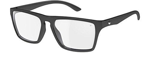 7f5cf9de691 adidas Originals 6056 Shiny Black Melbourne Wayfarer Sunglasses   Amazon.co.uk  Clothing