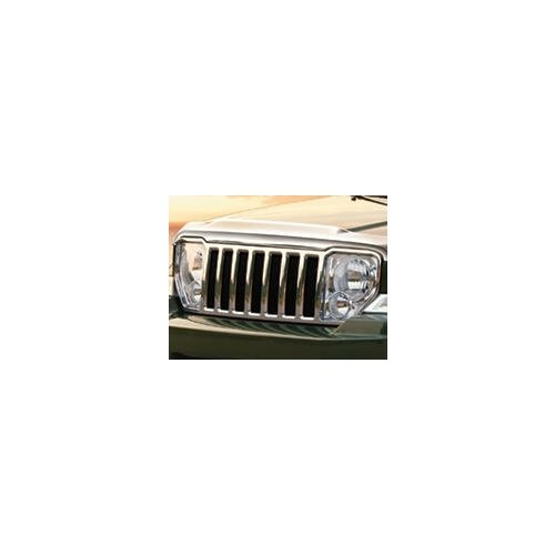 Jeep Liberty Chrome Grille - Jeep Liberty Chrome Grill