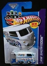 "2013 Hot Wheels HW Showroom - White Volkswagen Kool Kombi """