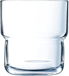 Arcoroc 58055 Spirale Wasserglas Saftglas stapelbar 200ml Glas 6 St
