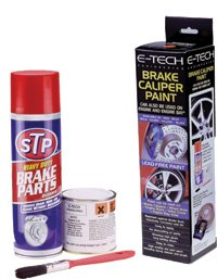E-Tech Quality Black Brake Caliper & Engine Paint