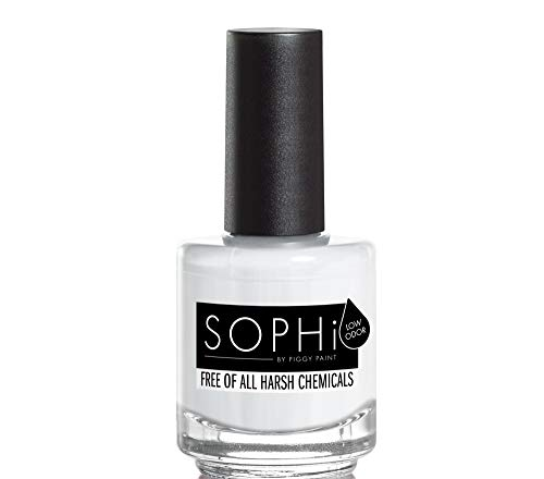 SOPHi Nail Polish, Snow More Cold Feet, Non Toxic, Safe, Free of All Harsh Chemicals - 0.5 oz