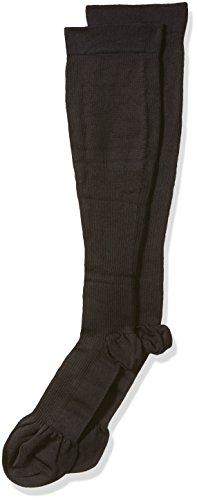Dr. Scholl's Men's 1 Pack Firm Microfiber Support Sock,black shoe ,Medium ()