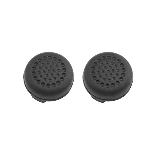 vanpower 2pcs FPS Analog Thumb Stick Grips Caps Cover for Nintend Switch Pro (Black)