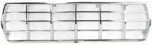 Crash Parts Plus Chrome Grille Assembly for 1978-1979 Ford Bronco, F-100, F-150, F-250, F-350 Main Body Parts