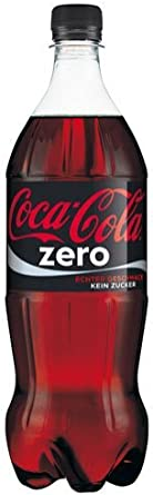 Coca-cola - Zero, sin azúcar, pet - 1l - [pack de 6]