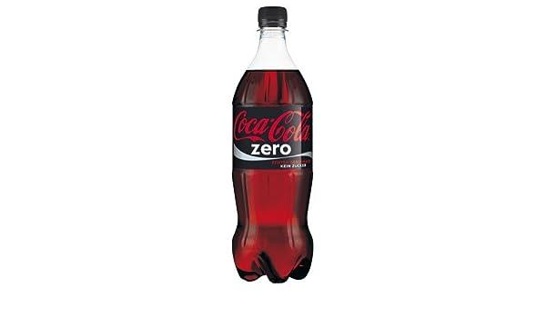 Coca-cola - Zero, sin azúcar, pet - 1l - [pack de 6]: Amazon.es: Alimentación y bebidas