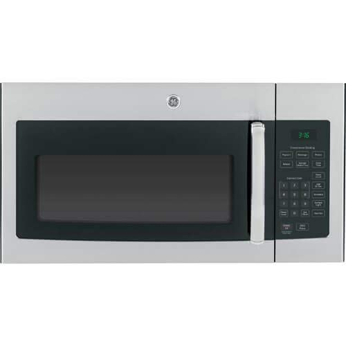 GE JVM3160RFSS 30″ Over-the-Range Microwave Oven in Stainless Steel (Renewed)
