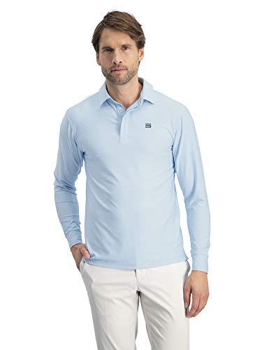 Jolt Gear Long Sleeve Polo Sky Blue