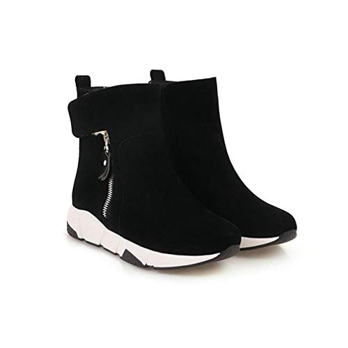 59a0967d106227 T-JULY Women s Fashion Flat Heels Boots Girl s Ankle Boots Spring Boots  Brand Sock Shoes