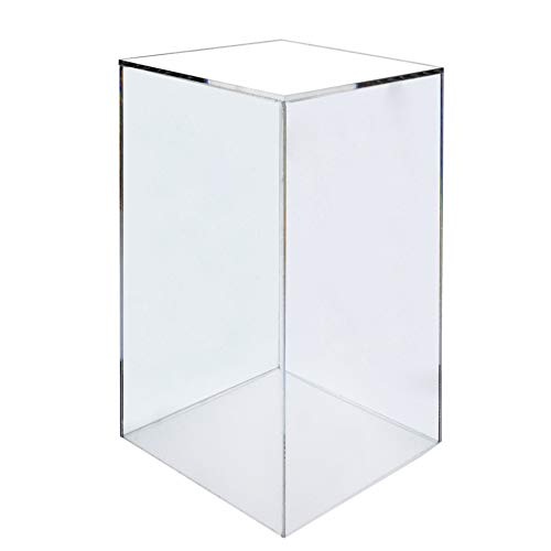 Cube Display 12 (Marketing Holders Acrylic Display Cube Pedestal Art Sculpture Stand 12