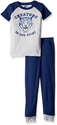 Crazy 8 Boys Big Short Sleeve Tight Fit Pajama Set