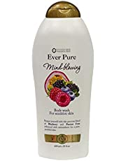 ever pure shower gel - blueberry & passion fruit - 650 ml