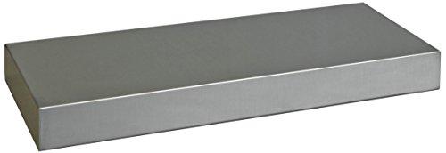 - Danver Stainless Steel Floating Shelf, 36-Inch