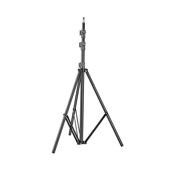 RetinaPix DIGITEK® Lightweight & Portable 9 Feet Aluminum Alloy Light Stand for Photography
