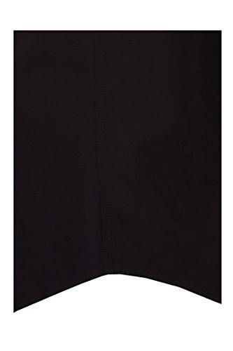 Seidensticker -  Camicia classiche  - Regular - Classico  - Maniche a 3/4 - Uomo Nero  nero