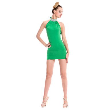 One Ropa Algodón Vestidos de de Rojo Verde Dancewear BLUE Ropa LentejuelasPrimavera Azul Otoño Invierno Noche Paramujer Poliéster ONESIZE Negro Size Noche wTXqxp0
