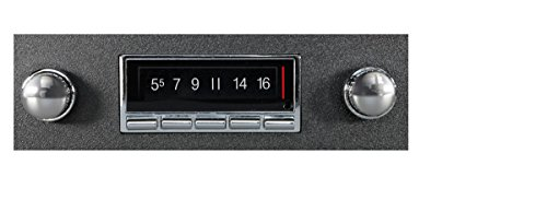 1973-1979 Ford Pickup Truck 300 watt Custom Autosound USA-740 AM FM Car Stereo/Radio with built-in Bluetooth, AUX Inputs, Color Change LCD Digital Display