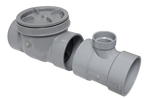Endura 3934150 50 GPM Interceptor Flow Control with Cleanout, Air Intake and 4-Inch Connection