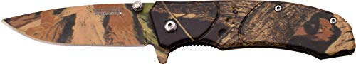 TAC Force TF-907BC-MC Spring Assisted Knife Rainforest Camo Coated Blade & Handle, 4″ Review