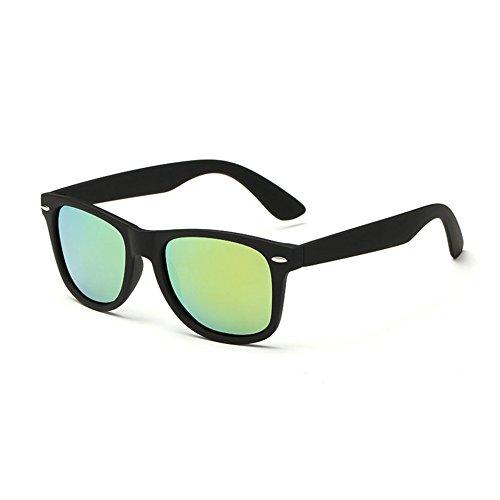 Para UV400 PC Sol Unisex Gafas Blackboxgold Sol Vintage De Gafas De Polarizadas BISBAwzUq