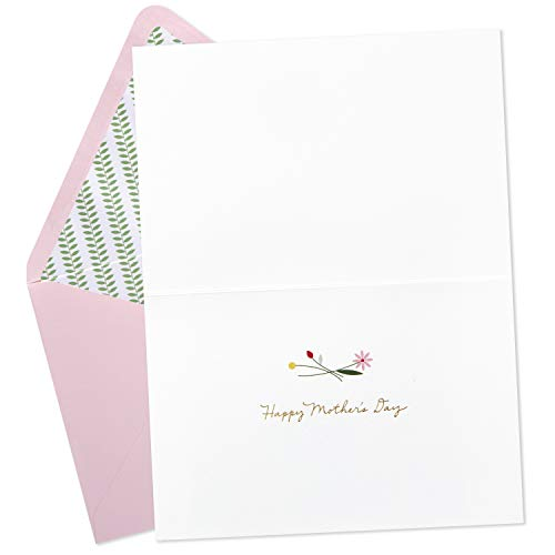 Hallmark Signature Mothers Day Card (Quilled Flowers, Couldn't Have Picked a Better Mom) by Hallmark (Image #1)