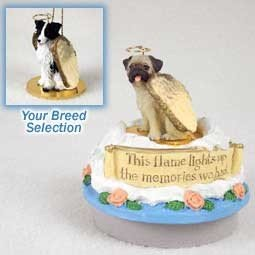Conversation Concepts Miniature Border Collie Candle Topper Tiny One Pet Angel Ornament (Dog Ornament Collie Angel)