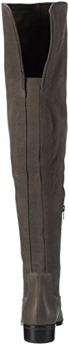 Grey Aldo 13 Nabuck Women's Grey Chiaverini Boots Over Knee 1T1Ywraq