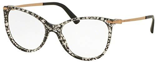 Bvlgari Women's BV4121 Eyeglasses Black San Pietrino 53mm ()