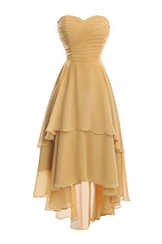 D'onore Basso Damigella Partito Donne Nuziali Prom Bess Sweetheart Cielo Breve Blu Dresses Alto fp0w0