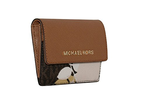 7f59b35c6e0c MICHAEL Michael Kors Women s Jet Set Travel Card Case ID Key Holder Wallet  - Luxury Beauty Store