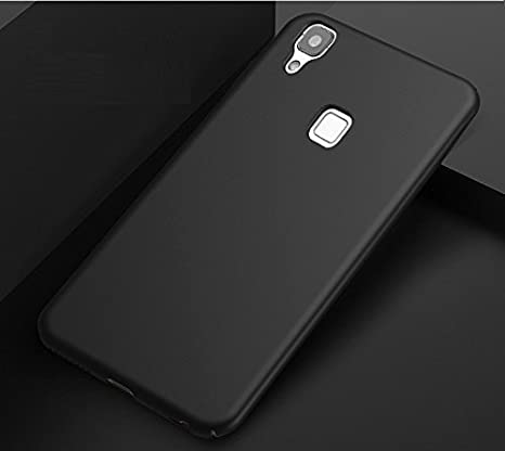 newest edbad 456fa Vivo V3 Max Matte Hard Case Black Back Cover: Amazon.in: Electronics