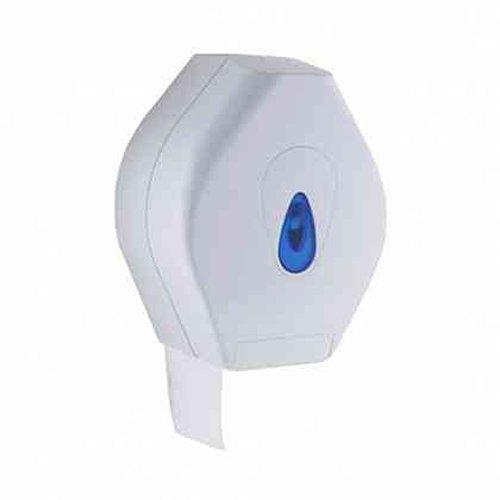 Medium White JDS PL41PWB Modular Jumbo Toilet Roll Dispenser