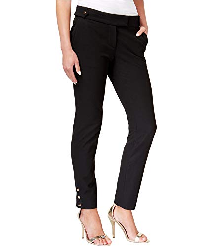 (Rachel Zoe Women's Twill Suiting Lana Pants Black 8 27)