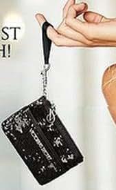 Victoria's Secret Sequin Coin Purse