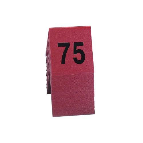 Cal-Mil 226-2 Break Resistant Number Tents, 3