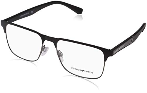 EMPORIO ARMANI Eyeglasses EA1061 3001 Matte Black/Matte Gunmetal
