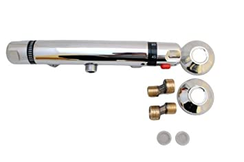 Thermostatic Shower Mixer Bar Chrome Plated, Deva, Triton, Bristan  Replacement 1 Year Warranty