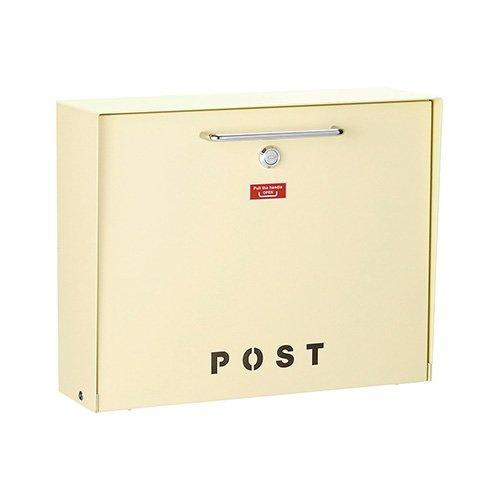 郵便ポスト 郵便受け 壁付けポスト デターン パステルクリーム DETURN   B07FP7XMG2