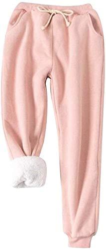 BOLANA de Mujer Polar Térmico Pantalones Chándal Invierno Cordón ...