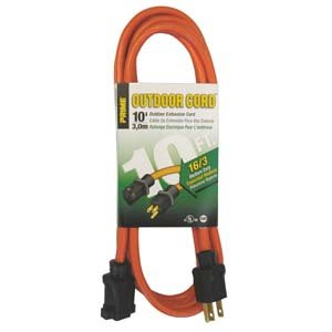 10 Ft 16//3 Outdoor Extension Cord